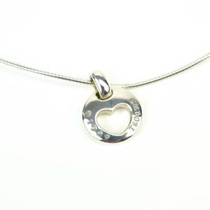 Tiffany & Co. Sterling Silver Open-heart Necklace